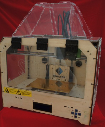 Enclosure for Replicator 3D Printer (and Clones)